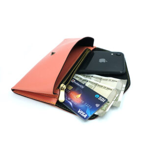 Personalised Women's Wallet – Peach